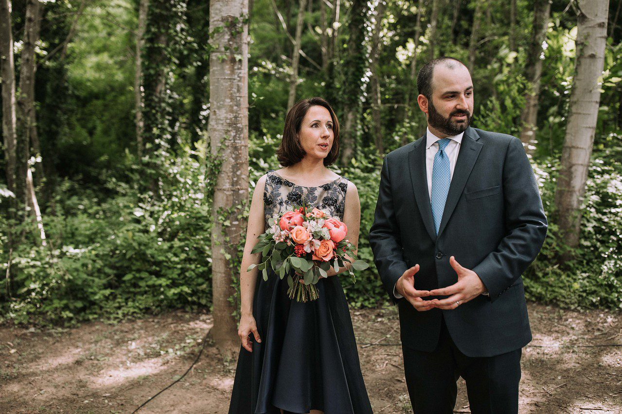 Flowers for M&S Wedding in Arbucies (Can Riera de la Pineda). Photo by Juanluro Jano